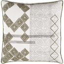 Online Designer Living Room Grey  art patched Pillow