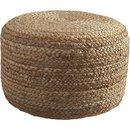 Online Designer Living Room braided jute pouf