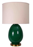 Online Designer Bedroom JAMIE YOUNG LIGHTING TABLE LAMP BASE EGG EMERALD LARGE