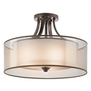 Online Designer Bedroom Kichler Lacey 4 Light Semi Flush Mount