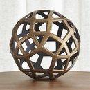 Online Designer Living Room  Geo Large Decorative Metal Bal