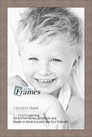 Online Designer Living Room ArtToFrames 11x17 inch Gray Oak - Barnwood Picture Frame, WOM76808-973-11x17