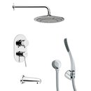 Online Designer Bathroom Remer TSH4040 Tyga Pressure Balance Tub and Shower Faucet
