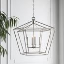 Online Designer Bedroom Silver Metal Chandelier