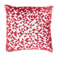 Online Designer Combined Living/Dining Magenta Ivory Pillow