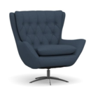 Online Designer Combined Living/Dining Swivel Armchair