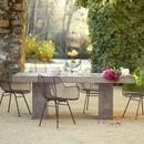Online Designer Patio Gravitas Cement Dining Table 8'
