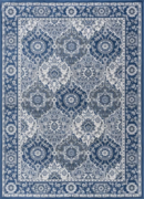 Online Designer Living Room Dolphus Traditional Oriental Navy Area Rug