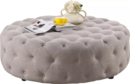Online Designer Combined Living/Dining Baxton Studio Cardiff Cocktail Ottoman