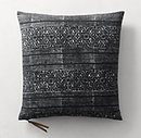 Online Designer Living Room Batik Mud Resist Stripe Pillow Cover