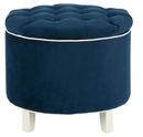 Online Designer Bedroom storage ottoman