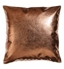 Online Designer Living Room Metallic/Linen Cushion Cover