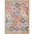 Online Designer Combined Living/Dining Abstract Indian Style Area Rug
