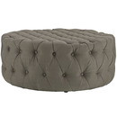 Online Designer Bedroom Circle Tufted Ottoman