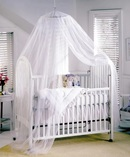 Online Designer Living Room Laurencho Round Hoop Sheer Bed Canopy Net