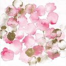 Online Designer Bedroom Pretty In Pink Bouquet Painting Print on Wrapped Canvas