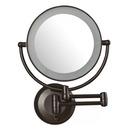 Online Designer Bathroom Aldona LED Lighted 1X/10X Magnification Mount Wall Mirror