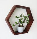 Online Designer Combined Living/Dining Honeycomb shelves