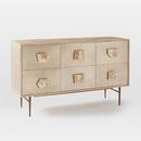 Online Designer Combined Living/Dining Roar + Rabbit™ Jeweled 6-Drawer Dresser