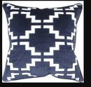 Online Designer Combined Living/Dining Pavillion Velvet Throw Pillow
