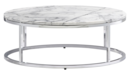 Online Designer Living Room smart round marble top coffee table