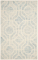 Online Designer Living Room Cambridge Light Blue/Ivory
