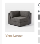 Online Designer Living Room build your own urban sofa