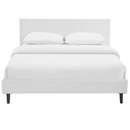 Online Designer Bedroom ANYA QUEEN BED FRAME IN WHITE