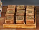 Online Designer Combined Living/Dining Wood 9 Piece Tic Tac Toe Box Set