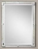 Online Designer Bedroom CAST GLASS & FACETED METAL MIRROR