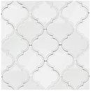 Online Designer Kitchen Byzantine Arabesque Bianco Ceramic Wall Tile
