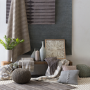 Online Designer Living Room Lined Woven Throw