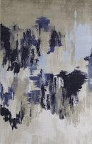Online Designer Living Room Ulysses Beige/Blue Area Rug