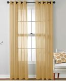 Online Designer Patio Mcinnis Solid Sheer Grommet Curtain Panels