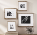 Online Designer Combined Living/Dining WOOD GALLERY SINGLE OPENING FRAMES