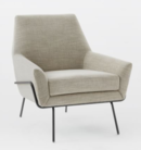 Online Designer Combined Living/Dining Lucas Wire Base Chair