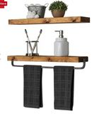 Online Designer Bathroom Drew 2 Piece Wall Shelf Set