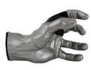 Online Designer Living Room Grip Studios Male GuitarGrip Hanger  Left Hand Model Silver