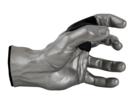 Online Designer Living Room Grip Studios Male GuitarGrip Hanger  Left Hand Model Silver
