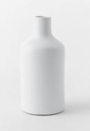 Online Designer Living Room Pure White Ceramic Vases-Bottle