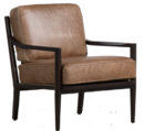 Online Designer Living Room Dominic Saddle Accent Chair