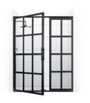 Online Designer Bathroom True Divided-Light Swing Door