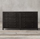 Online Designer Bedroom Printmaker's 6-Drawer Dresser