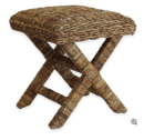 Online Designer Bedroom Baum-Essex Cavendish Woven Wicker Spa Stool