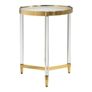 Online Designer Bedroom Gold Plated Accent Table