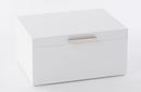 Online Designer Bedroom Mid-Century Jewelry Box – Large (White Lacquer)