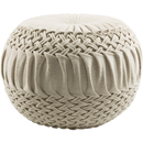Online Designer Combined Living/Dining Round Woven Pouf