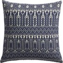 Online Designer Living Room izel navy fair isle pillow