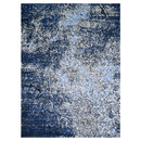 Online Designer Combined Living/Dining Viera Gray/Navy Area Rug