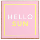 Online Designer Kids Room Hello Sun Framed Textual Art